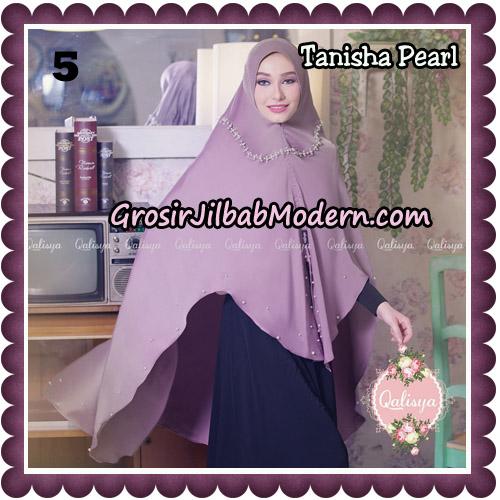 Jilbab Syari Khimar Tanisha Pearl Original by Qalisya Hijab Brand No 5