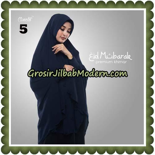 Jilbab Cantik Eid Mubarok Premium Khimar Original By Oneto Hijab Brand No 5