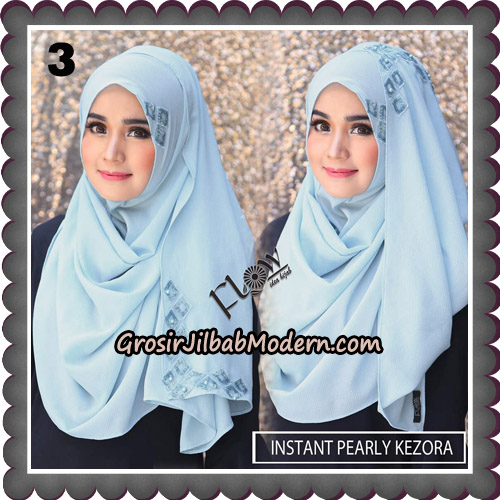 Jilbab Instant Pearly Kezora By Flow Idea Hijab Brand No 3