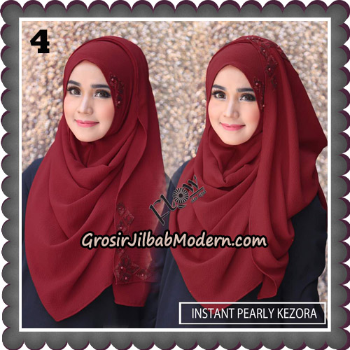 Jilbab Instant Pearly Kezora By Flow Idea Hijab Brand No 4