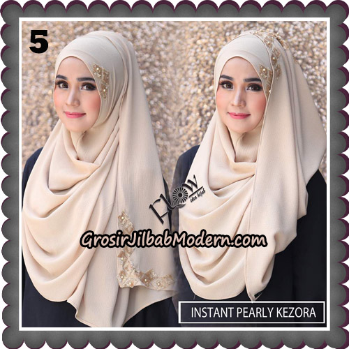 Jilbab Instant Pearly Kezora By Flow Idea Hijab Brand No 5