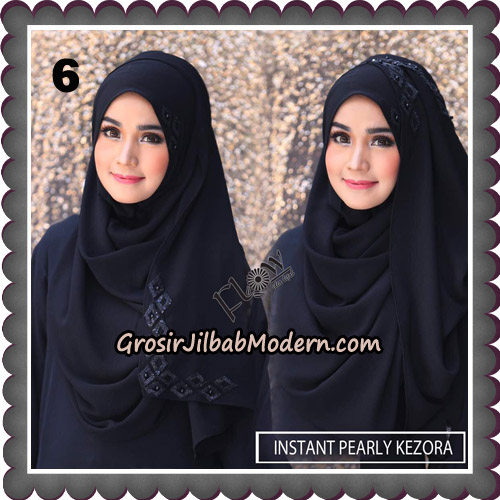 Jilbab Instant Pearly Kezora By Flow Idea Hijab Brand No 6