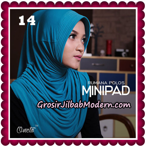 Jilbab Cantik Rumana Polos Minipad Seri 2 Original By Oneto Hijab Brand No 14