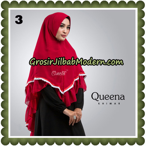 Jilbab Cantik Queena Khimar Original By Oneto Hijab Brand No 3