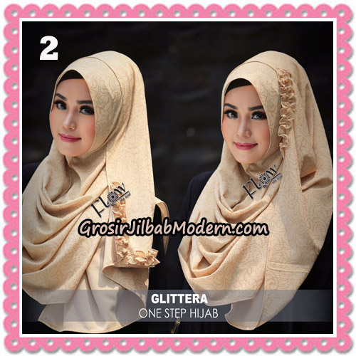 Jilbab Instant Glittera One Step Hijab Original By Flow Idea No 2