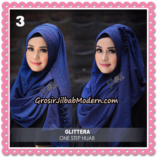 Jilbab Instant Glittera One Step Hijab Original By Flow Idea No 3