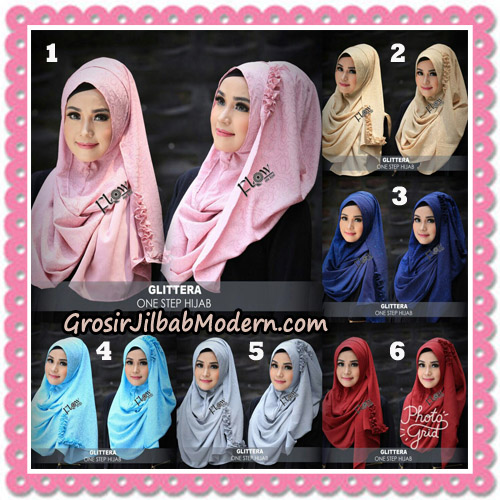Jilbab Instant Glittera One Step Hijab Original By Flow Idea
