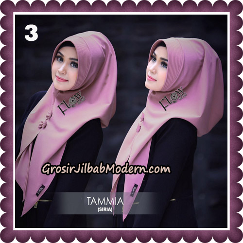 Jilbab Siria Kekinian Tammia Italiano Original By Flow Idea Hijab No 3