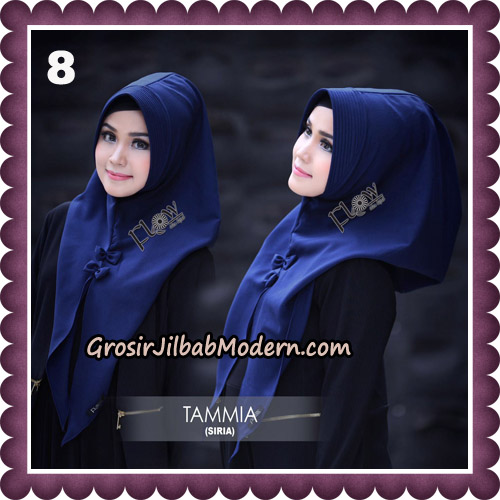 Jilbab Siria Kekinian Tammia Italiano Original By Flow Idea Hijab No 8