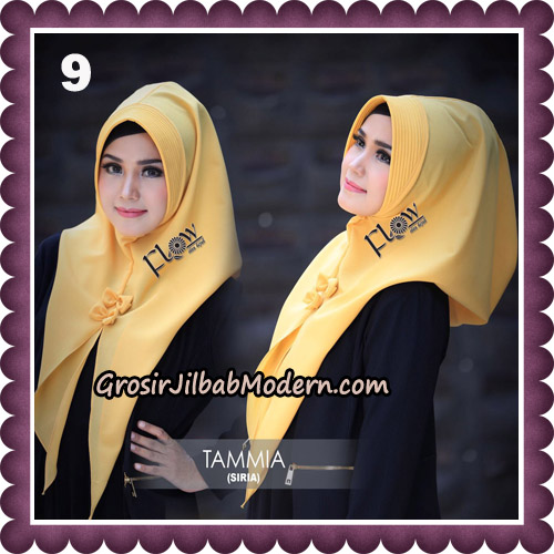 Jilbab Siria Kekinian Tammia Italiano Original By Flow Idea Hijab No 9