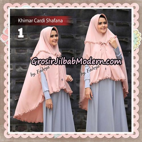 Jilbab Cantik Khimar Cardi Shafana Original By Fadeya Hijab Brand No 1