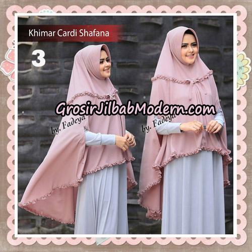 Jilbab Cantik Khimar Cardi Shafana Original By Fadeya Hijab Brand No 3