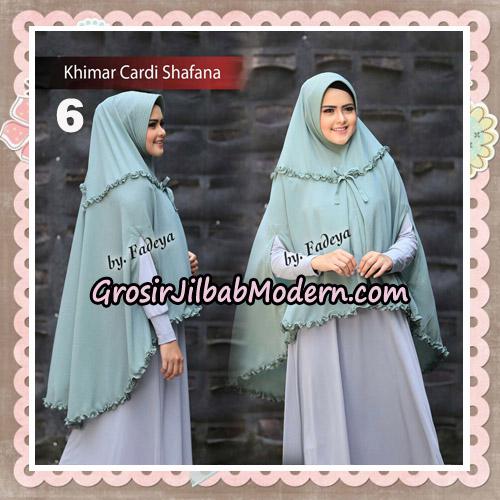 Jilbab Cantik Khimar Cardi Shafana Original By Fadeya Hijab Brand No 6