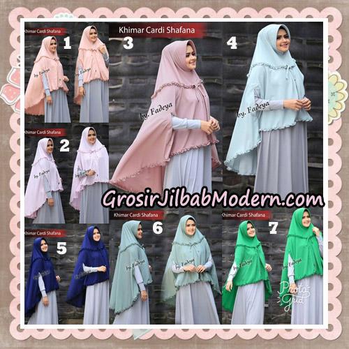 Jilbab Cantik Khimar Cardi Shafana Original By Fadeya Hijab Brand