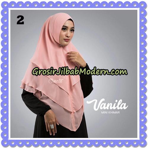 Jilbab Cantik Vanila Mini Khimar Original By Oneto Hijab Brand No 2