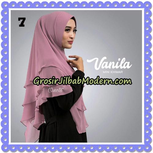 Jilbab Cantik Vanila Mini Khimar Original By Oneto Hijab Brand No 7