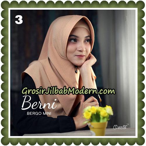Jilbab Cantik Berni Bergo Mini Original By Oneto Hijab Brand No 3