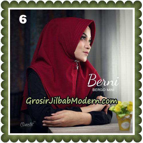 Jilbab Cantik Berni Bergo Mini Original By Oneto Hijab Brand No 6