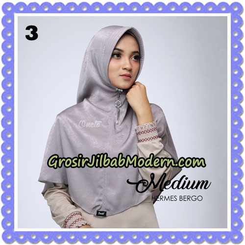 Jilbab Medium Hermes Bergo Original By Oneto Hijab Brand No 3