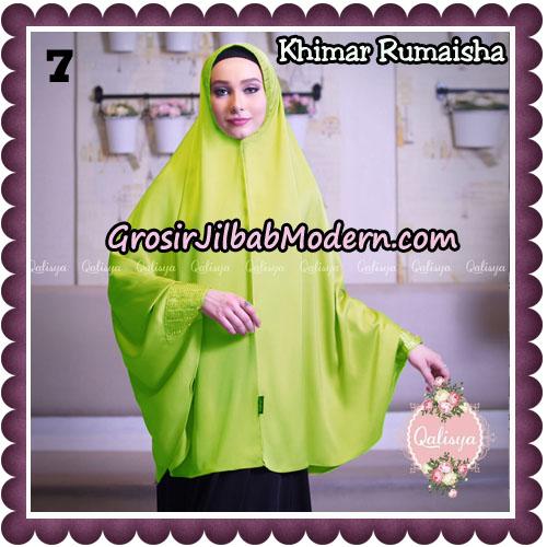 Jilbab Syari Khimar Rumaisha Original by Qalisya Hijab Brand NO 7