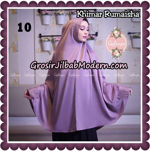 Jilbab Syari Khimar Rumaisha Original by Qalisya Hijab Brand No 10