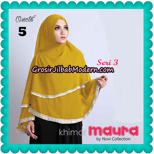 Khimar Maura Seri 3 Original by Novi Collection No 5