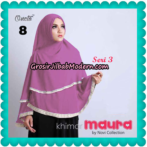 Khimar Maura Seri 3 Original by Novi Collection No 8