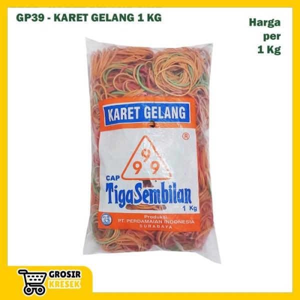 GP39 Grosir Karet Gelang Kiloan Cap TIGA SEMBILAN isi 1000 gram 1 kg