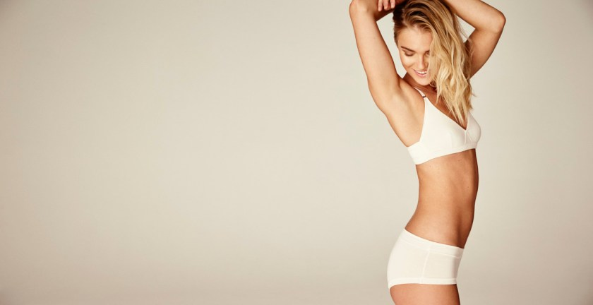 WORON | Sustainable Lingerie | Kopenhagen | Move Base & Brief Base White | Foto: WORON | GROSS∆RTIG