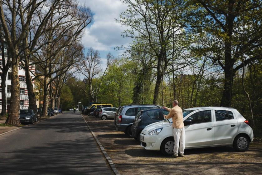 160429_ZQDZ² - Zahn und Zieger unterwegs | Deutsch-Deutsche Geschichte | Dreilinden | Grenzübergang Drewitz | Checkpoint Bravo | Foto: René Zieger | GROSS∆RTIG