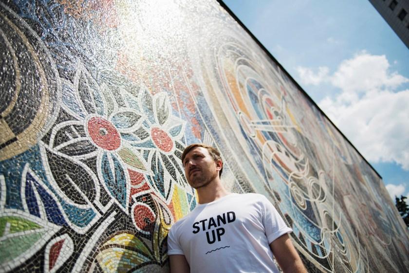 STAND UP! | Kampagne von Peppermynta und Waterkoog | Für mehr Toleranz und Mitmenschlichkeit | Foto: René Zieger | GROSS∆RTIG