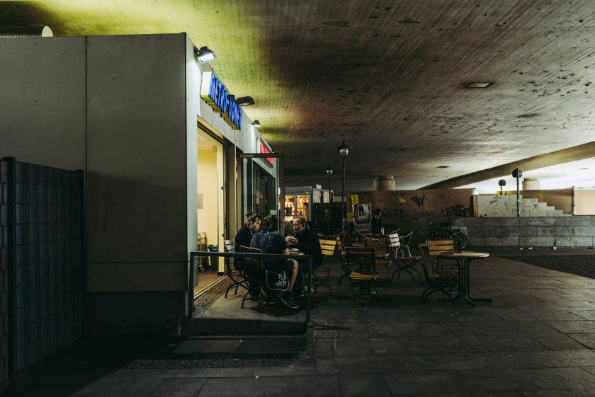Zahn und Zieger unterwegs in Steglitz | Foto: René Zieger | GROSS∆RTIGerwegs, Steglitz, Berlin, Juni 2018