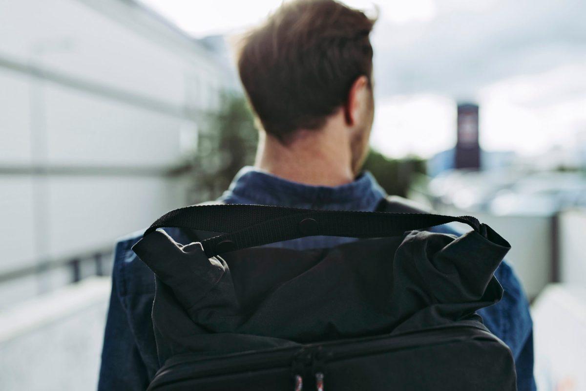 The RUCKSACK   Backpack von JECKYBENG / Moritz Lorenz   Nürnberg   Steglitz   Z² – Zahn und Zieger unterwegs   Foto: René Zieger   GROSS∆RTIG