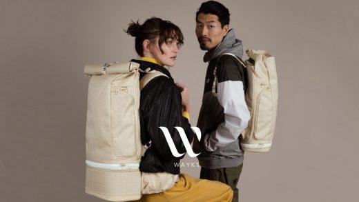 The WAYKS ONE | Modulares Backpack | Fabian und Leonie Stein | Kickstarter 2018 | GROSS∆RTIG