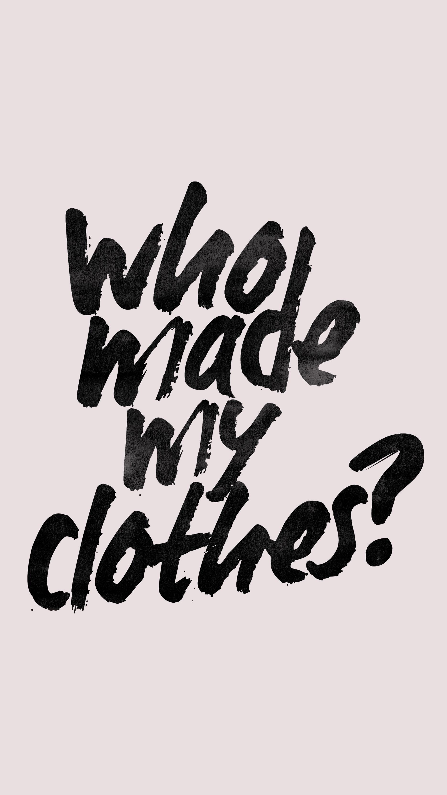 Editorial: Wie lange brauchen wir noch die Fashion Revolution Week?   #fashrev   GROSS∆RTIG