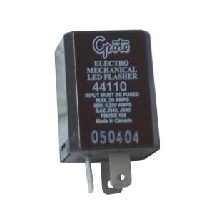 44110  3 Pin Flasher, Electromechanical LED Flasher
