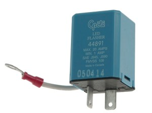 44891  2 Pin Flasher, VariableLoad Electronic LED