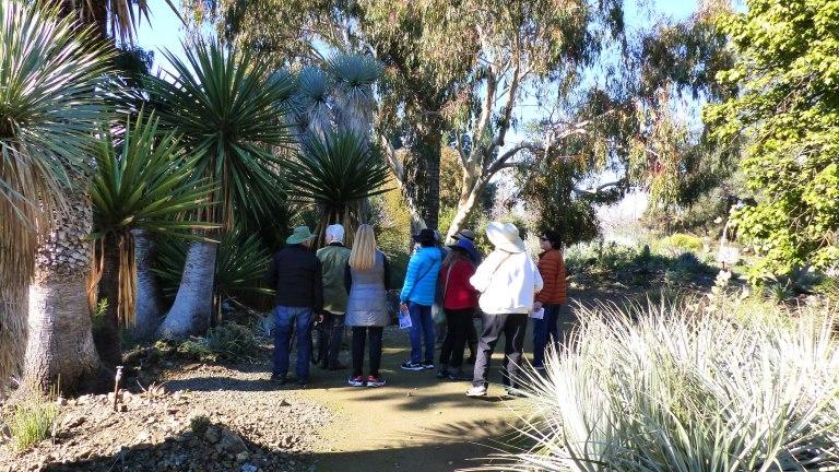 RBG Start of the trail 1024x576 Ruth Bancrofts Succulent Garden