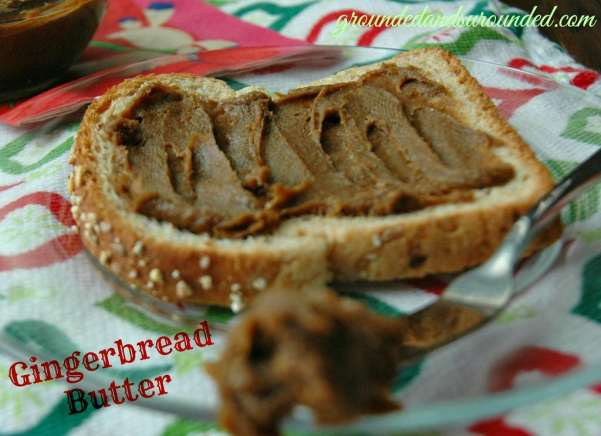 If Cookie Butter had a sweet, adorable, and jolly cousin, it would be none other than the tasty creation we call, Gingerbread Butter. This festive delicacy is my new addiction. This butter is wonderful on toast, crackers, as a dip for fruit or eaten by the spoonful right out of the jar. Be still my heart...this stuff is AMAZING! https://www.groundedandsurrounded.com/recipe/move-cookie-butter-gingerbread-butter/
