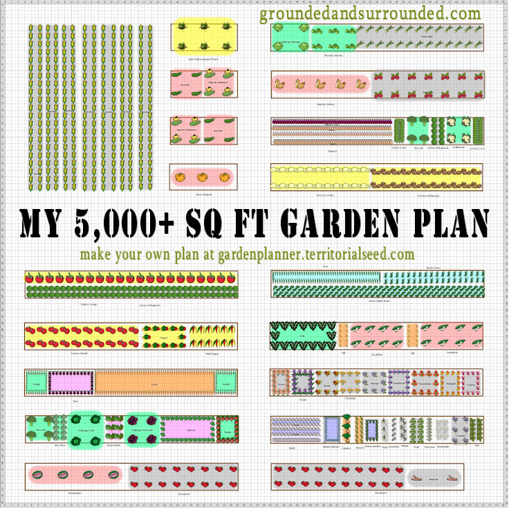 My 5000 Sq Ft Vegetable Garden Plan – How To Plan My Garden