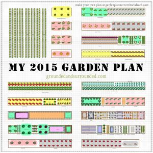 i have often wished that more gardeners shared their large vegetable garden plans online this - Large Garden 2015