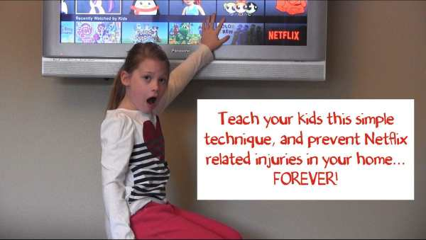 In this short 2 1/2 minute video, one mom shares her simple technique to get her children to stop fighting over NETFLIX!