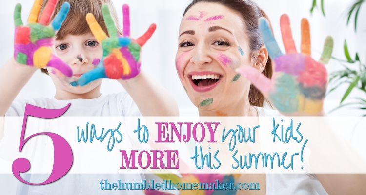 We are launching our #ETHANproject 10-week Summer Challenge in EPIC fashion today on The Humbled Homemaker. Check out all the details and get ready to ENJOY the HERE and NOW all summer long!