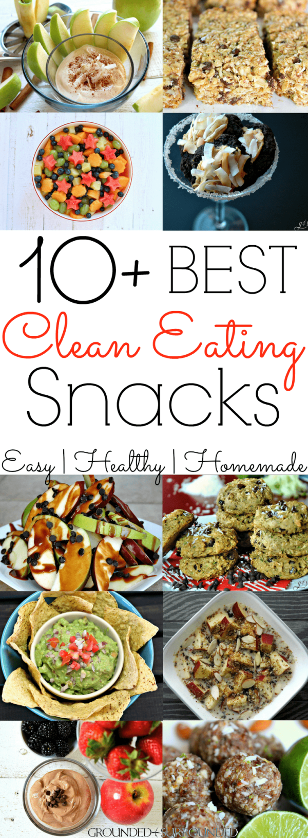 10+ Clean Eating Snack Recipes | Aren't we all looking for easy and quick snacks to take with us on the go or to lose weight (for weightloss). Homemade snacks are always the best, but sometimes we have to settle for store bought. Whether you fancy sweet or savory low carb ideas these will provide you with protein and fiber to keep you full! These healthy snacks are also great for kids, toddlers, teens and everyone in between.