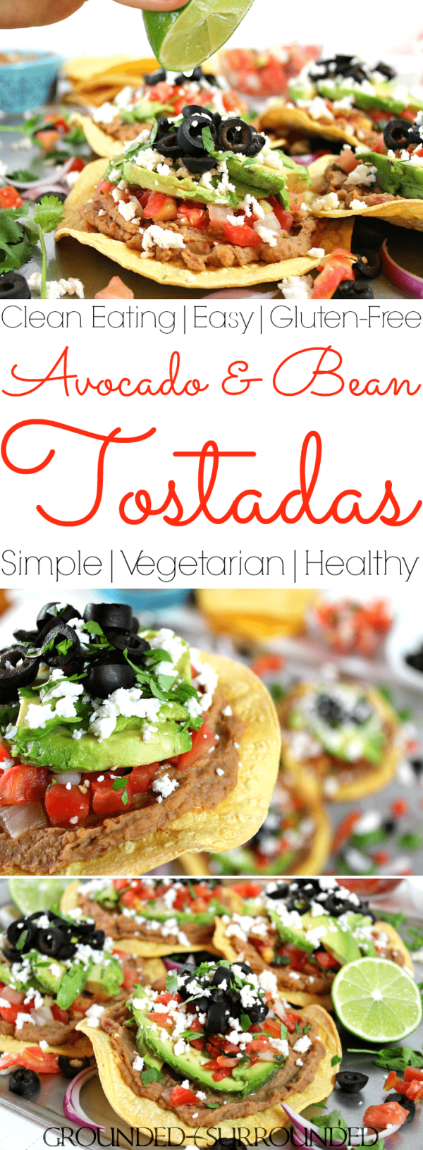 Easy vegetarian tostadas grounded surrounded the best vegetarian tostadas these healthy tostadas packed with whole food ingredients like avocado forumfinder Gallery