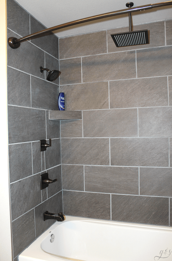 DIY: How to Tile Shower Surround Walls | Grounded & Surrounded