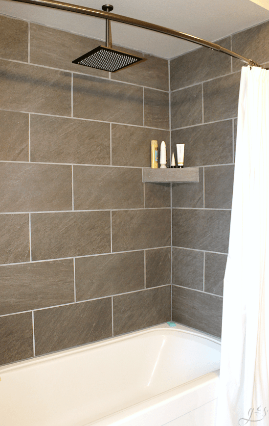 Diy How To Tile Shower Surround Walls Grounded Amp Surrounded