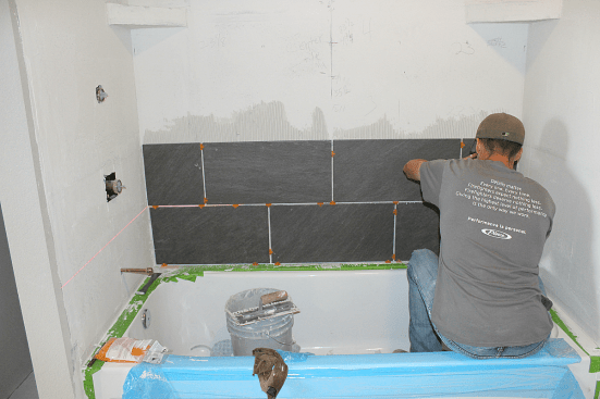 Diy How To Tile Shower Surround Walls Grounded Surrounded