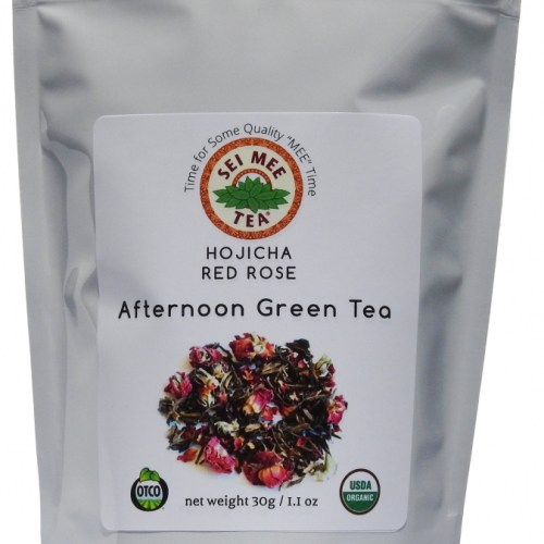HOJICHA RED ROSE Afternoon Green Tea