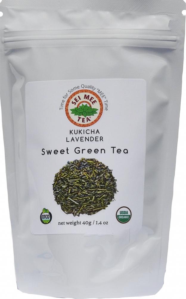 Kukicha Lavender Sweet Green Tea Sei Mee Tea Llc